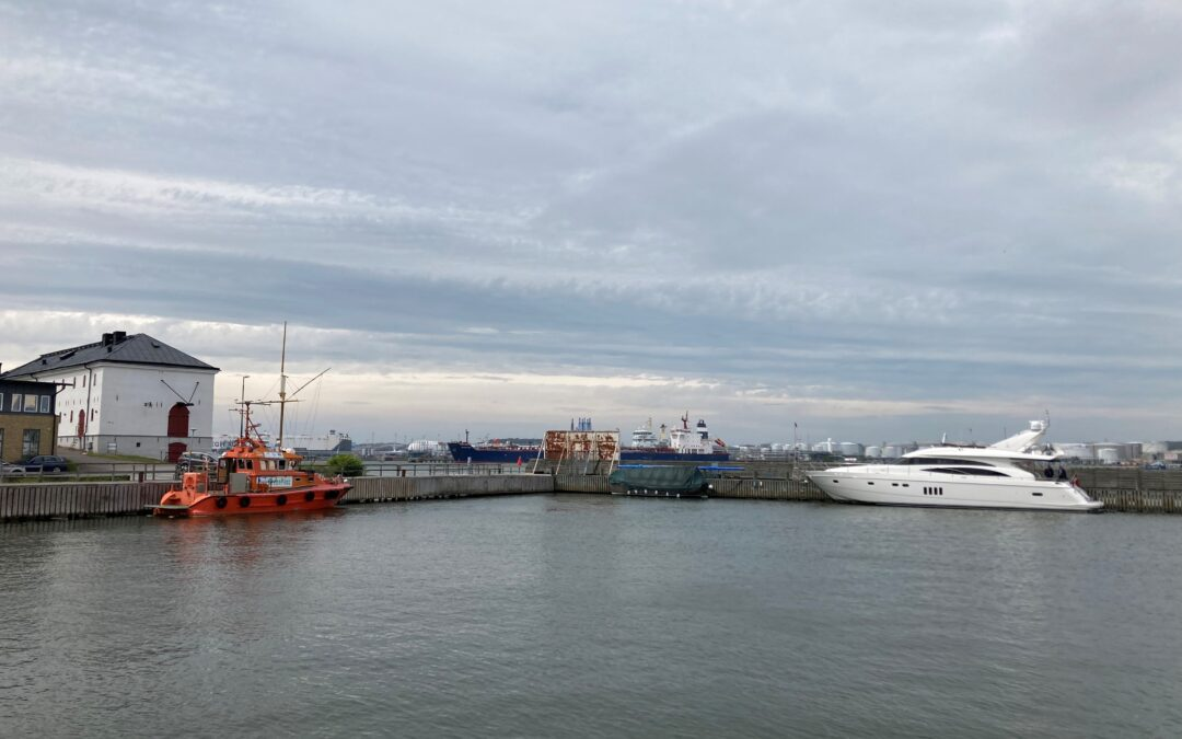 Direct report from the Archipelago of Gothenburg: The Prepare Ships test campaign has started!