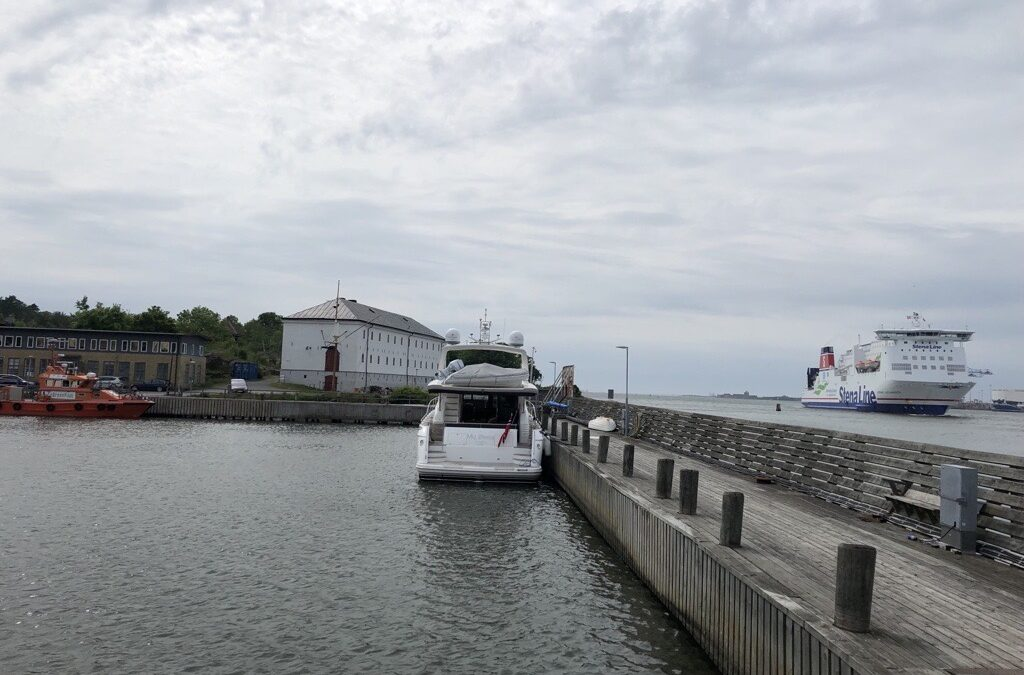 Direct report from the archipelago of Gothenburg: MY @Sea at Nya Varvet in Gothenburg