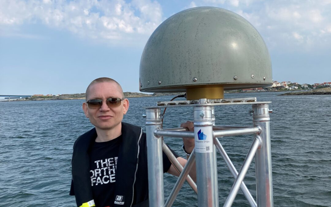 Direct report from the archipelago of Gothenburg: Collection of GNSS-data