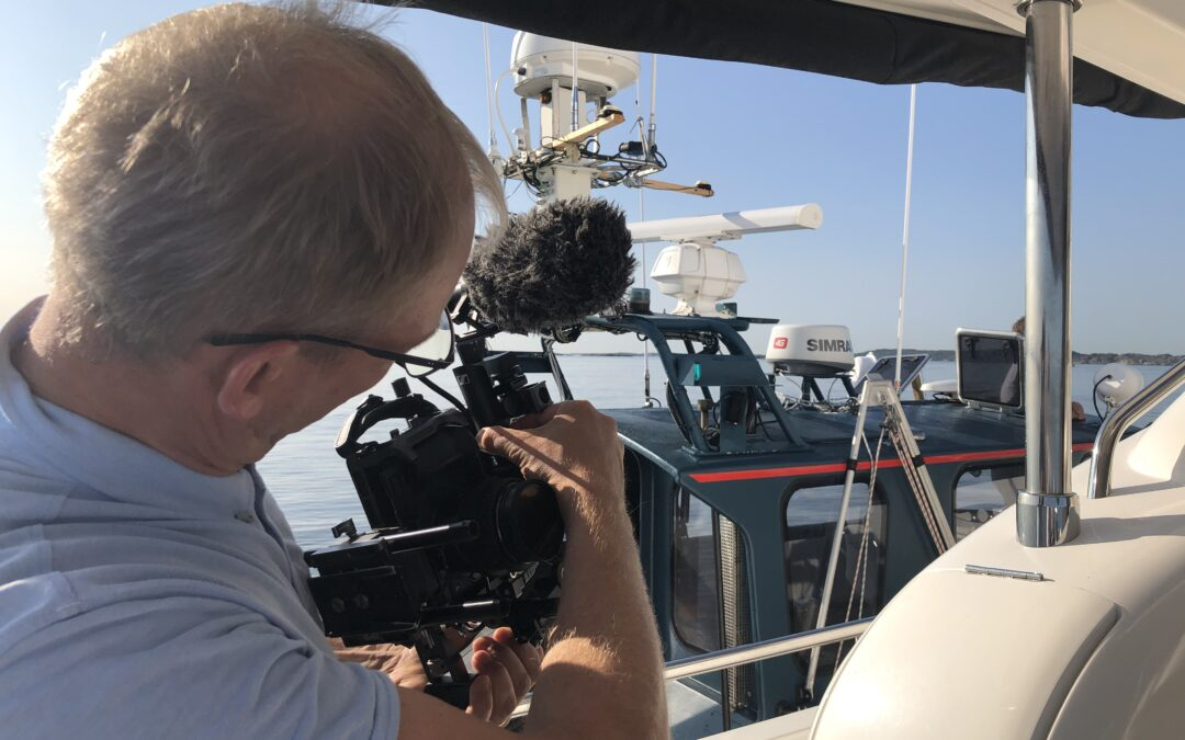 Direct report from the archipelago of Gothenburg: Behind the scenes – Pepare Ships documentary movie