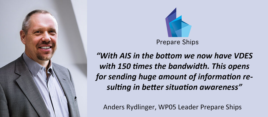Interview with Anders Rydlinger, Leader WP05 – Navigation decision support sub-system & HMI