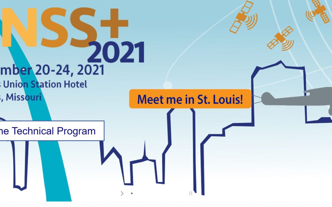 Prepare Ships project will present at the ION GNSS+ 2021, 20-24 September